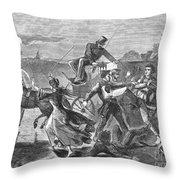 Franklin Benjamin Sanborn Throw Pillow by Granger