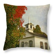 Franklin Church Throw Pillow