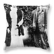 Franklin Delano Roosevelt Throw Pillow