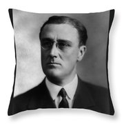 Franklin Delano Roosevelt Throw Pillow by International  Images