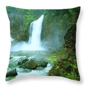 Franklin Falls   Throw Pillow