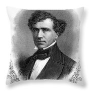 Franklin Pierce (1804-1869) Throw Pillow