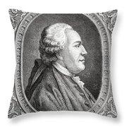 Franz Anton Mesmer, 1734-1815. Viennese Throw Pillow
