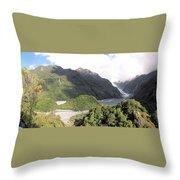 Franz Josef Glacier Nz Throw Pillow
