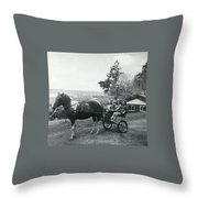 Freddy And The Three Amigas Throw Pillow