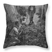 Frederick Douglass (c1817-1895) Throw Pillow by Granger