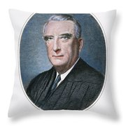 Frederick Vinson (1890-1953) Throw Pillow