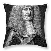 Frederick William (1620-1688) Throw Pillow