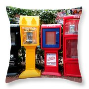Free Color Throw Pillow