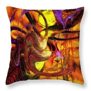 Free Your Mind Throw Pillow