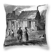 Freedmens Village, 1866 Throw Pillow by Granger