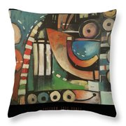 Freedom Jazz Dance Poster Throw Pillow