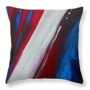 Freedom Of Abstraction Throw Pillow