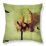 Freedom Of Feelings  Throw Pillow