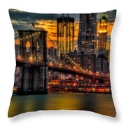 Freedom Rising Throw Pillow
