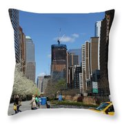 Freedom Tower 3 Throw Pillow