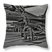 Freedoms Tebowing Throw Pillow
