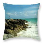 Freeport Coast Throw Pillow