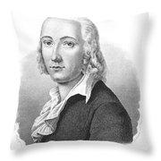 Freidrich H�lderlin Throw Pillow