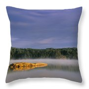 French Lake, Quetico Provincial Park Throw Pillow