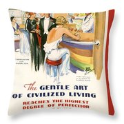French Line Throw Pillow