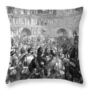 French Revolution, 1794 Throw Pillow