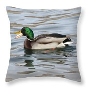 Fresh Catch Going Down Throw Pillow