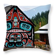 Fresh Coffee In Carcross Throw Pillow