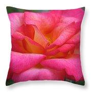 Fresh Floral Throw Pillow