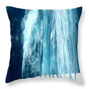 Fresh Water - Ile De La Reunion Throw Pillow