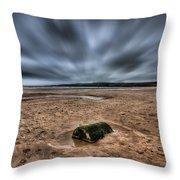 Freshwater West Blur Throw Pillow