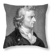 Friedrich Schiller Throw Pillow