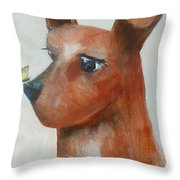 Friends Are Friends Throw Pillow