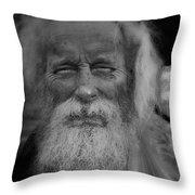 Fritz Ye Cat  Throw Pillow