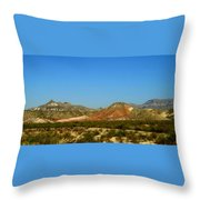 From A Distance Throw Pillow by Judy Hall-Folde