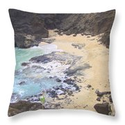 From Here To Eternity Beach Throw Pillow