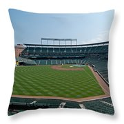 From Left Field Throw Pillow