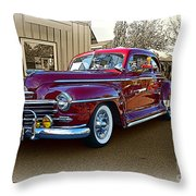 From Past Times Throw Pillow