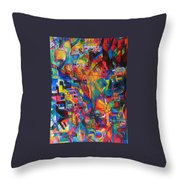 from Sefer Yetzirah the letter Yud Throw Pillow