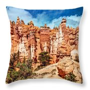 From The Bottom Up Throw Pillow