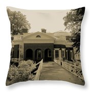 From The Garden To Home Throw Pillow
