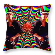 From The Heart Of The Rose Throw Pillow