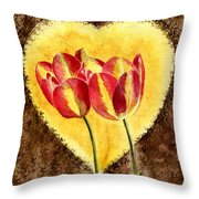 From Tulip With Love Throw Pillow