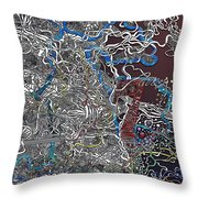 Frosted Oxygen Throw Pillow