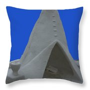 Frosted Tee Pee Throw Pillow
