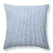 Frosted Woodgrain Throw Pillow