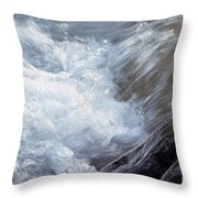 Froth Throw Pillow