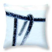 Frozen I Throw Pillow