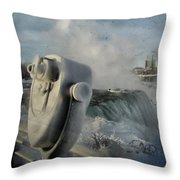 Frozen Viewer Throw Pillow