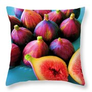 Fruit - Jersey Figs - Harvest Throw Pillow